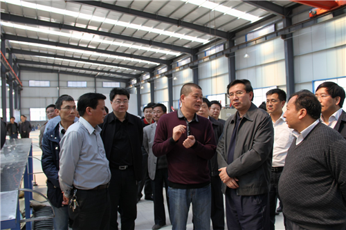 In April 2012, Qiandongnan Governor Li Feiyue looked at the plastic