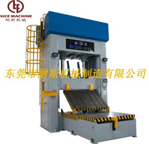Test method of mold clamping machine
