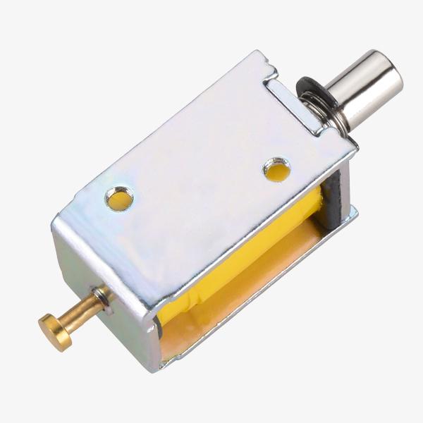 汽车用减震型电磁铁总成结构