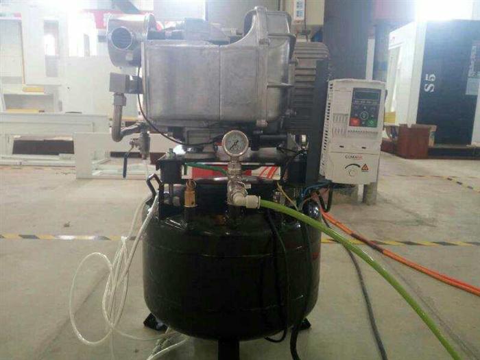 劲豹机电成功研发国内第一款干式无油涡旋空压机整机