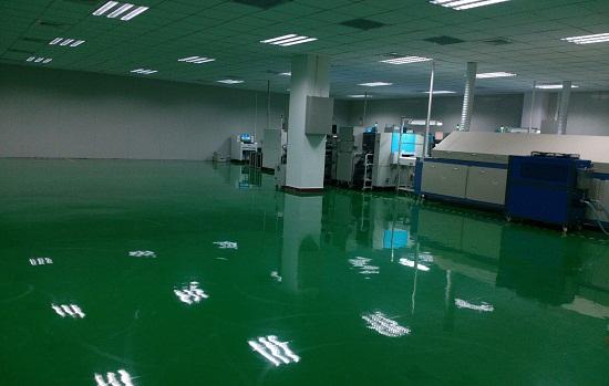 【迪美瑞地坪】防静电地坪漆和环氧自流平地坪漆之间的区别