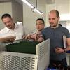 Russia customer visit factory for brake resistor