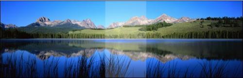 【工程投影】超宽边缘融合系统投影屏幕挑选与尺寸计算方法