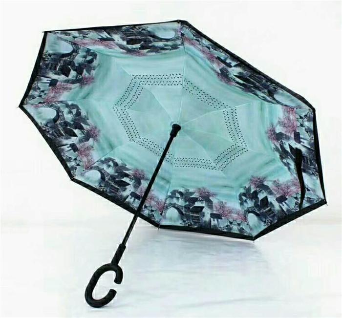 反向傘--贈送愛車人士的商務時尚禮品定制首選