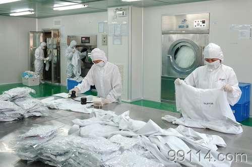 洁净工作服的清洗和性能检测