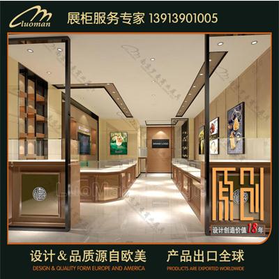 设计徐州珠宝柜台的表现形式