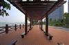 西咸新区空港新城塑木平台