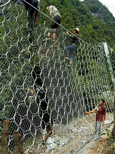 解析rxi-150被动边坡防护网应用