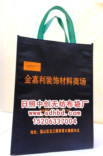 无纺布袋厂家_二维码在广告袋上的印刷