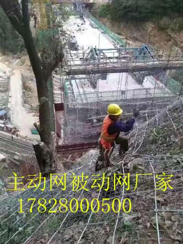四川主动网供应甘孜州山体滑坡防护网