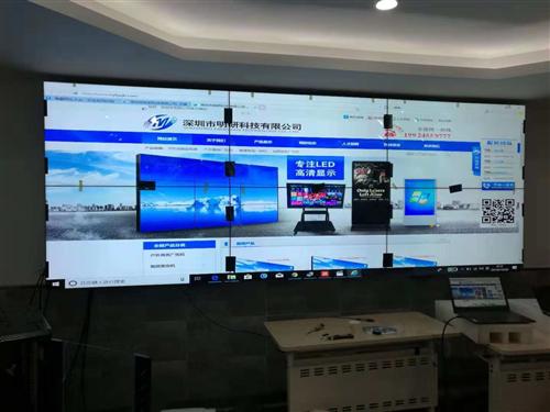 明研出品  55寸液晶拼接助力北京科技馆