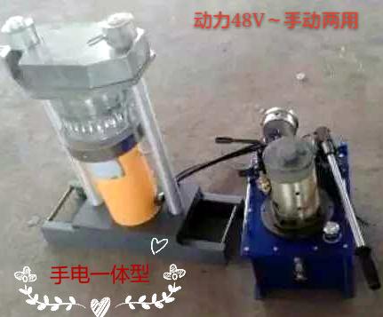 直流48/60/220V动力电动泵榨油机