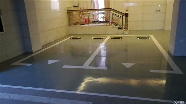 环氧砂浆平涂地坪漆施工工艺