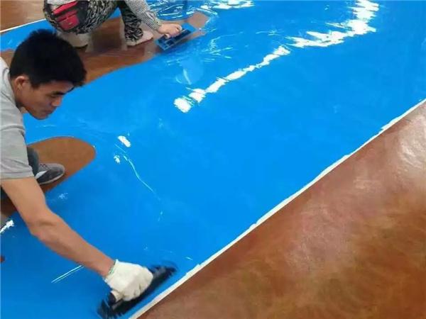 迪美瑞地坪带你了解环氧地坪漆施工温度和湿度的影响