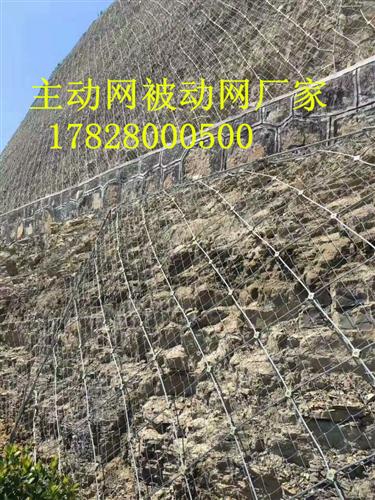 四川主动网,四川被动防护网材料参数