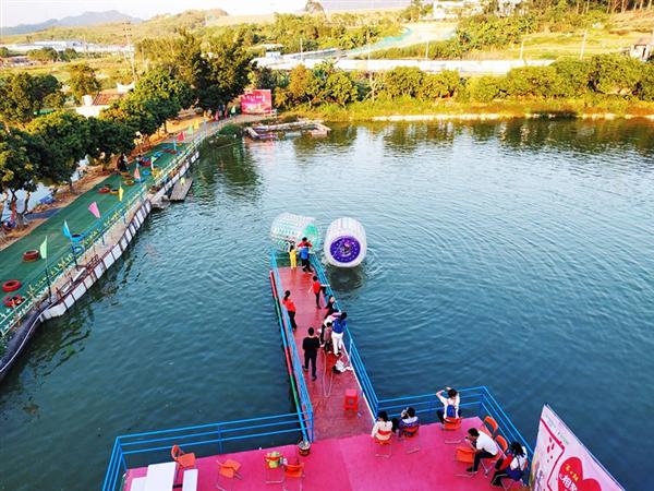 周末适合轰趴的深圳农家乐赏花划竹筏唱歌野炊团建一日游好地方