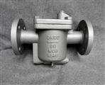 吊桶式疏水阀的工作原理