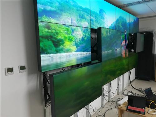 明研出品  助力北京鐵路科學研究院46寸1.7mm液晶拼接前維護方案