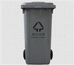 120L加厚塑料餐厨垃圾桶的运用