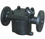 倒置桶式蒸汽疏水∴阀结构与尺寸图