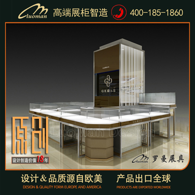 无锡珠宝店装修设计,就找罗曼高端展柜定制