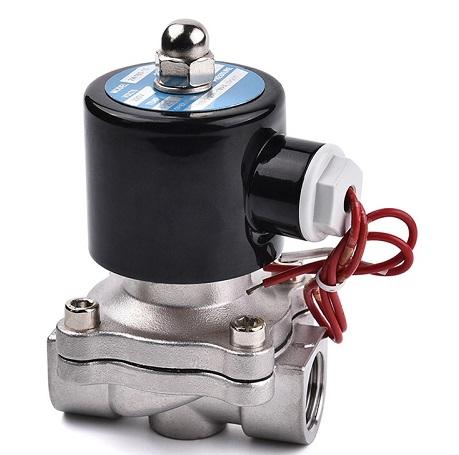 水用电磁�阀安装图