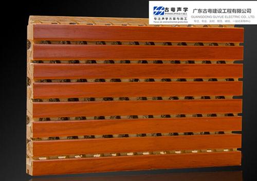 木质槽木吸音板的结构以及材质情况?