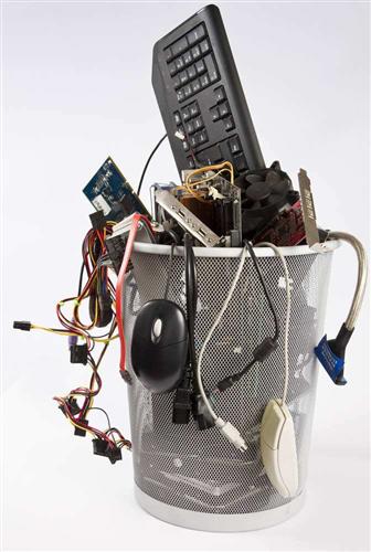 环境污染问题日趋严重,电子垃圾成为了首要的污染源