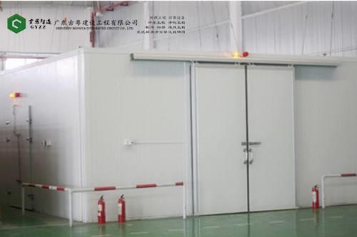 广州冷库工程,食品厂冷藏库如何安装的?