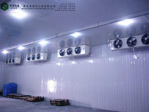 佛山冷库工程,冷藏库蒸发器结冰是什么原因?