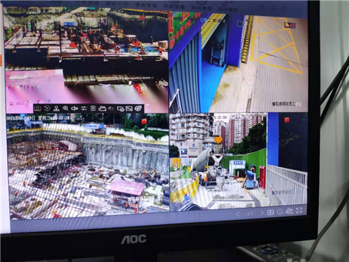 成都中铁八局(御华府)工地视频监控系统安装