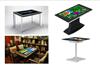 55寸43寸触摸桌茶几用于智能互动餐厅