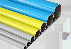 公司引進鋁合金不銹鋼超級管道