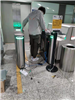成都双流机场定制闸机安装调试