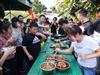 自然淳朴而又接地气的深圳农家乐-宝安乐湖生态园首次迎来了鼎城人寿公司的团建活动