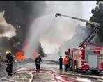 322深圳油罐车侧翻起火前因后果