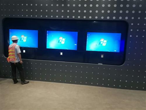 交互式触摸屏拼接屏互动墙常用的尺寸有哪些?