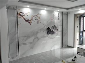 大理石背景墙的优缺点及施工方法