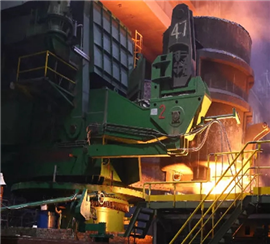 475mm world's largest thickness straight arc slab continuous casting machine achieves mass productio