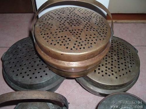 回收铜手炉脚炉无锡老铜器回收苏州镇江铜脸盆老银器收购