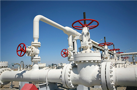 Stainless steel pipes for the natural gas industry