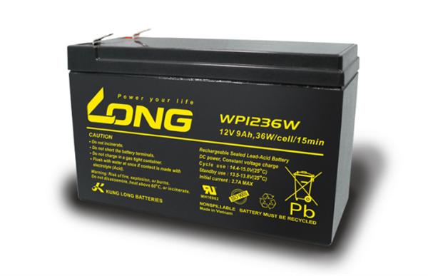 广隆蓄电池WP WATT系列货源充足