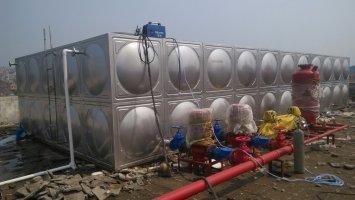 304不锈钢水箱应用范围之安装工艺流程