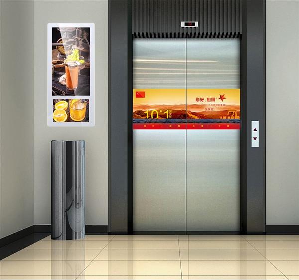 双屏电梯广告机的优势和性能分析报告