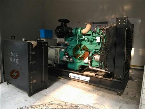 阳江柴油发电机,300KW玉柴送货验收