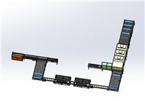 滚筒输送线之自动化新能源仓储应用