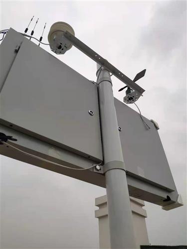 成都浦江龙记铂樾工地扬尘噪音监测安装