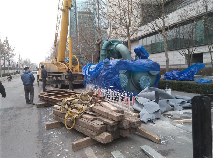 機組設備裝卸搬運吊索角度必須保持在90度以下