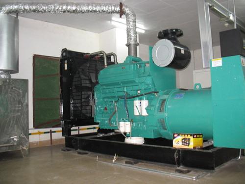 vns699威尼斯城官网1台300kw康明斯发电机组广州事业单位完工交收