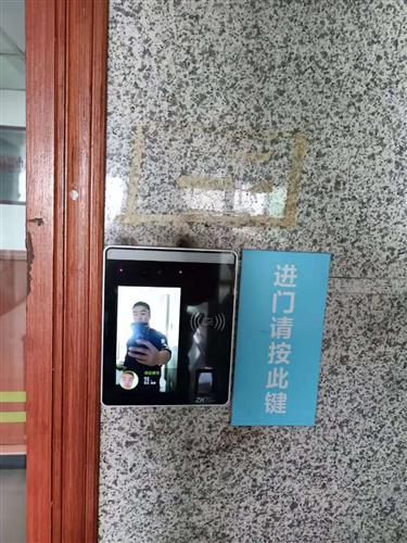 四川省考试院人脸识别设备门禁安装完工